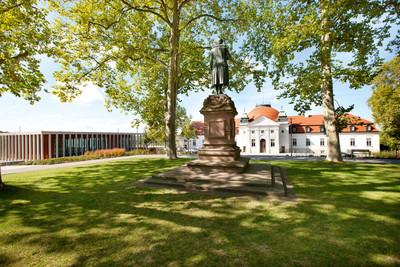 Marbach am Neckar - Schiller-Denkmal auf der Schillerhöhe