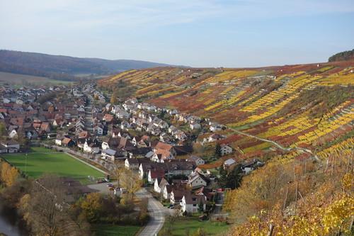 Steillage Rosswager Halde in Württemberg