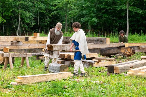 Holzarbeiten_Campus Galli