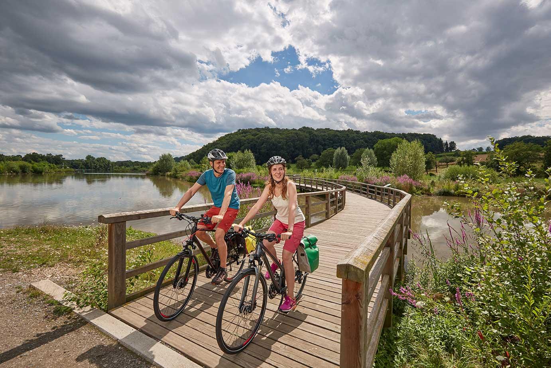 Radfahren Zugwiesen