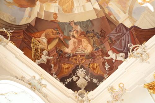 Schloss Bruchsal - Fürstensaal Bacchus