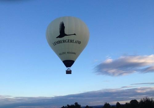 Ballonfahrt im Lembergerland