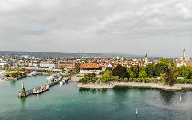 Bodensee_Blick auf Konstanz
