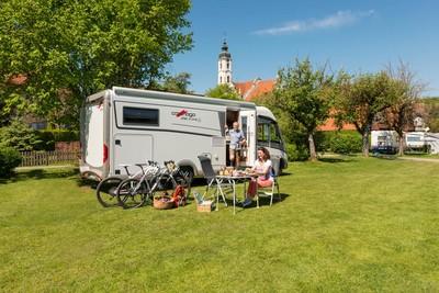 Campingplatz Steinhausen in Oberschwaben