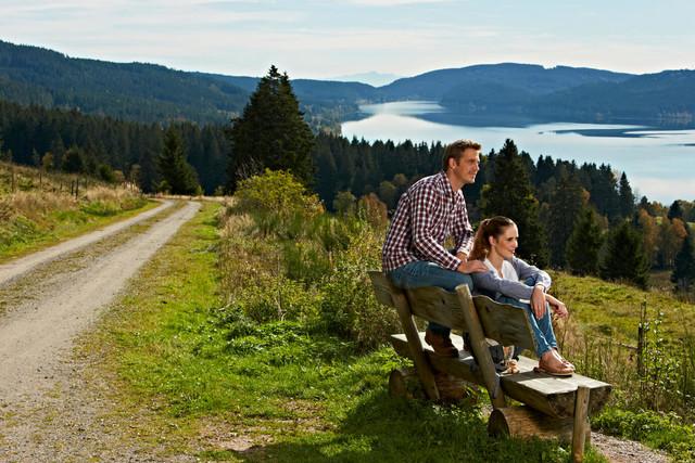 Schwarzwald_Hochschwarzwald Blick auf den Schluchsee