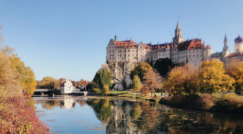 Schwäbische Alb_Schloss Sigmaringen im Herbst