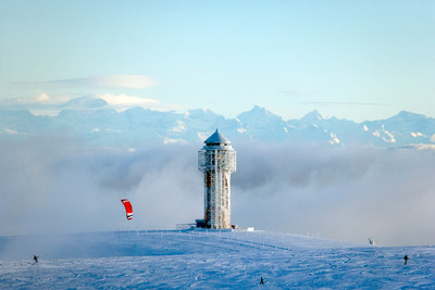 Schwarzwald Winter Feldbergturm