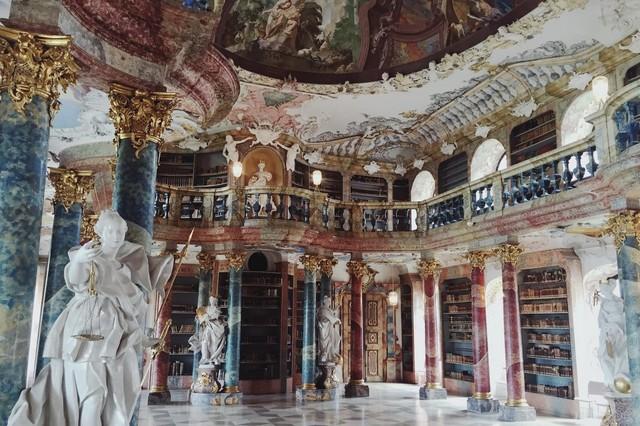 Kloster Wiblingen Bibliothekssaal
