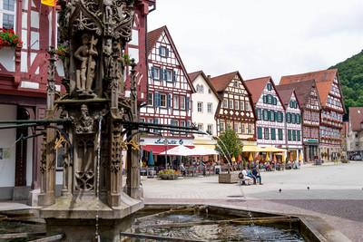 Schwäbische Alb_Marktplatz Bad Urach