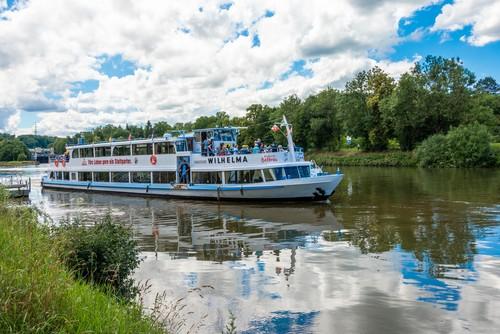 Neckar Käpt'n - MS Wilhelma, Flussschifffahrt bei Stuttgart