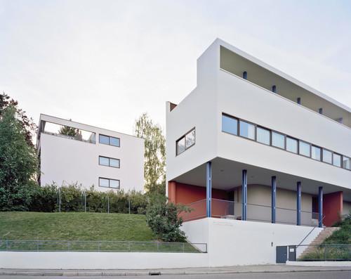 Weißenhofsiedlung Stuttgart Le Corbusier Doppel- und Einzelwohnhaus
