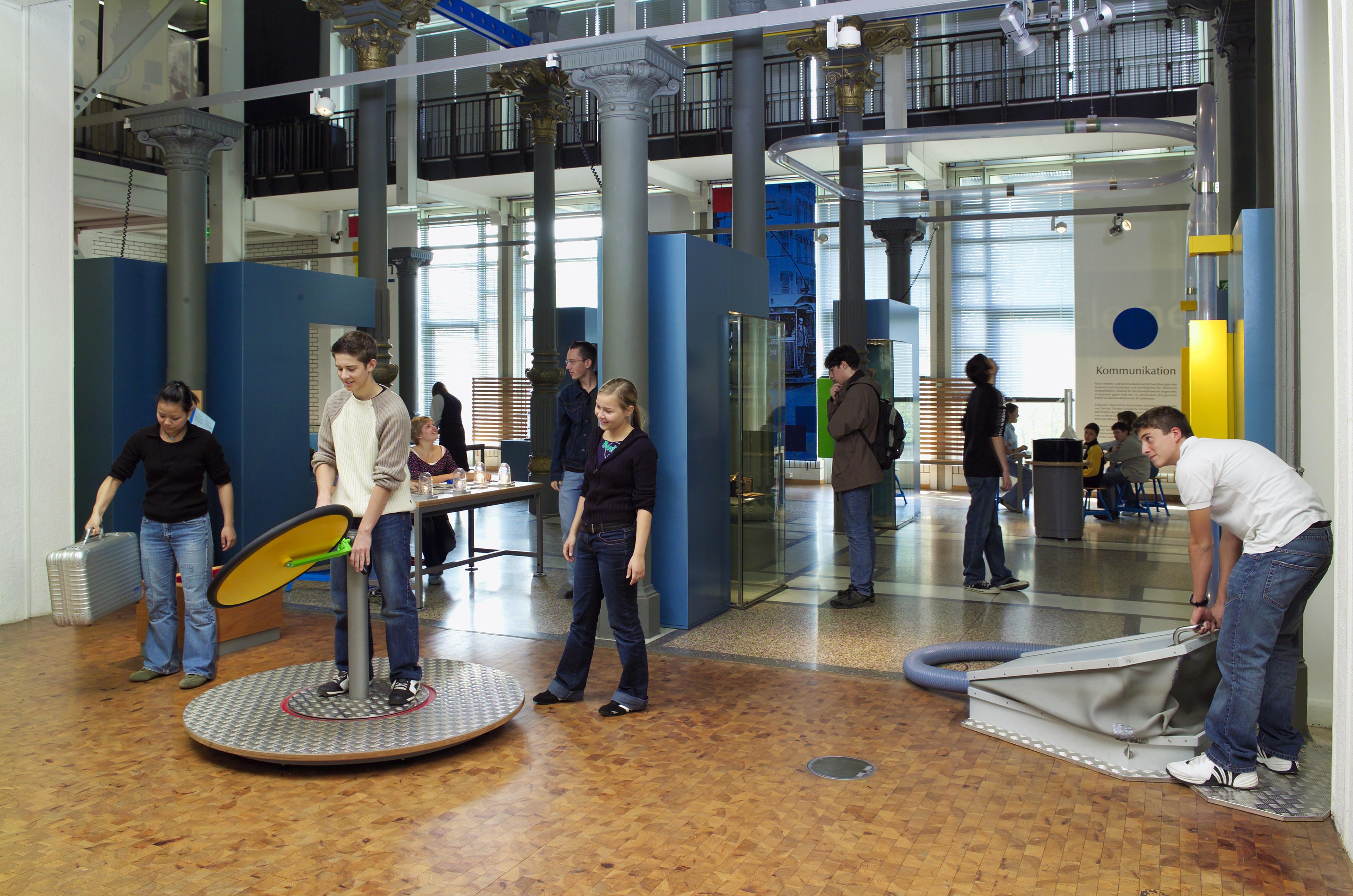 Mitmachstation Technoseum Mannheim