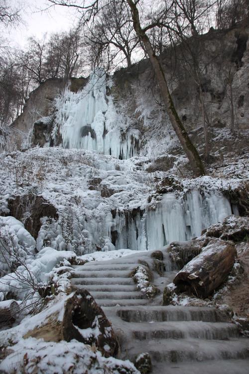 Uracher waterfall