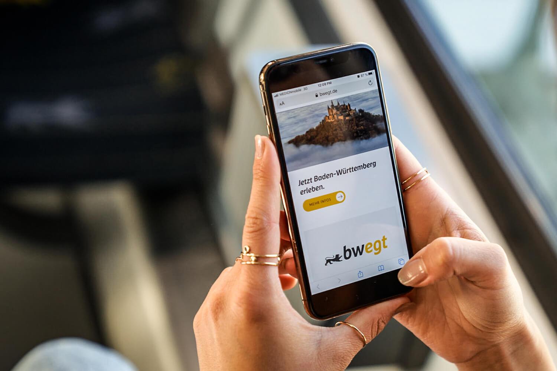 BWegt: Auskunft Smartphone