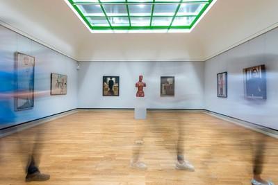 Stuttgart_Staatsgalerie innen