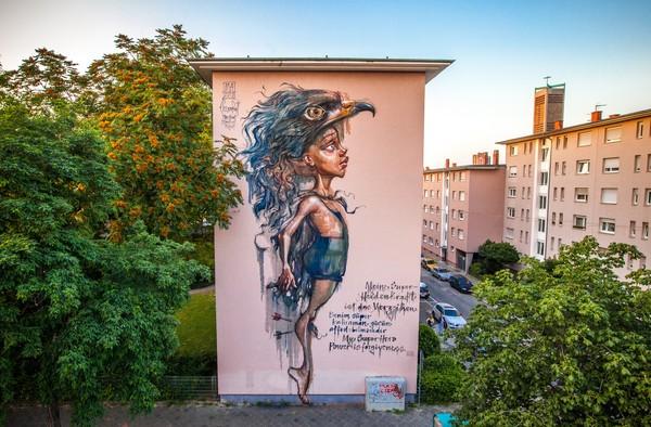 Open-Air Streetart, Stadt.Wand.Kunst Mannheim