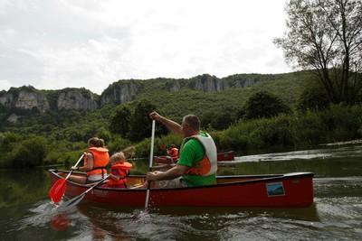 Schwäbische Alb_Kanufahrt auf der Donau