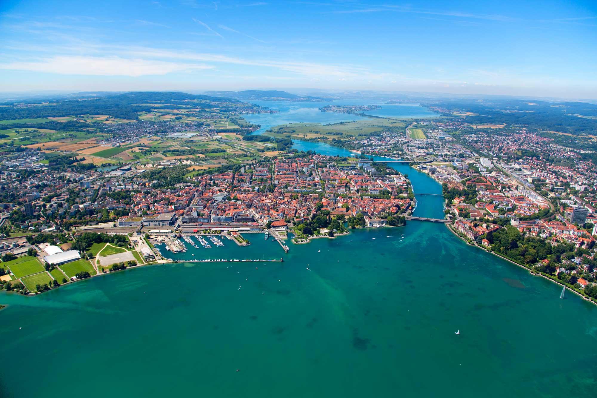 Konstanz Luftbild